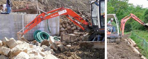 Escavazioni a Barga Lucca