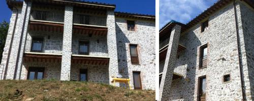 Restauro Facciate a Barga Lucca