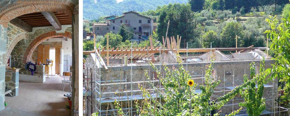 Progettazione e direzione a Barga Lucca