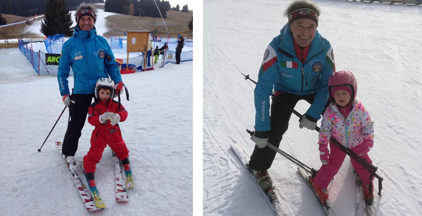 Prezzi scontati pacchetto corsi Sci e Snowboard Asiago