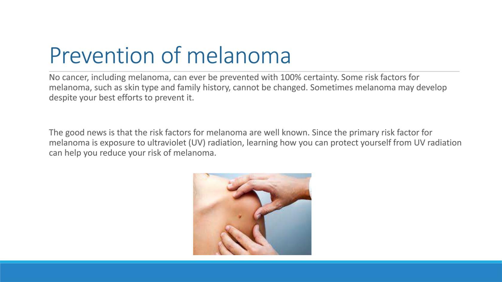 Prevenzione del Melanoma a Taranto