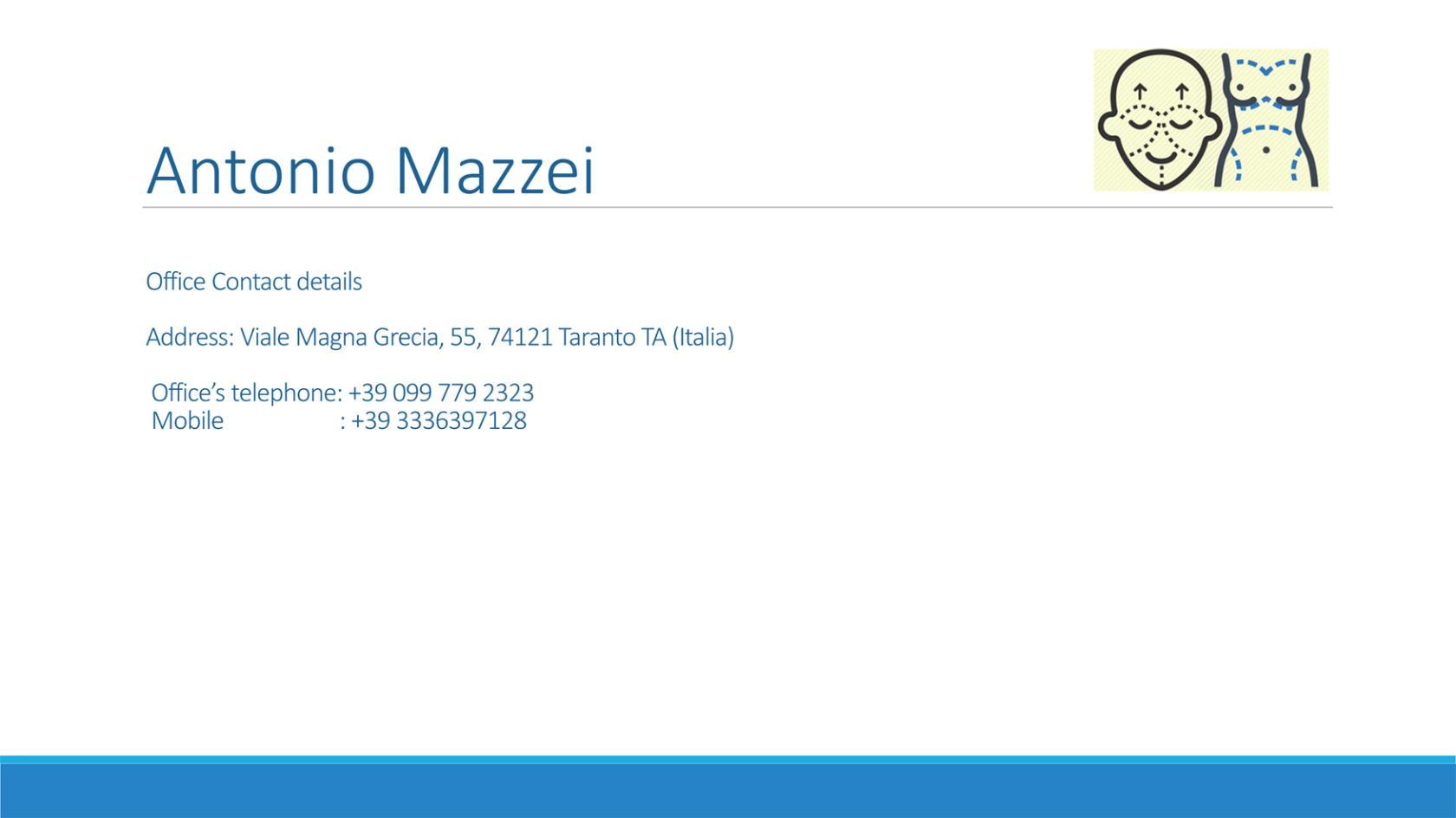Dott Antonio Mazzei a Taranto