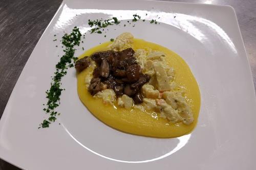 Polenta con Funghi a Vicenza Veneto