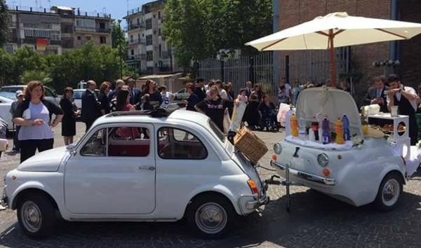 Catering in Auto d'Epoca a Napoli