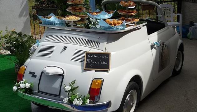 Aperitivo su Fiat 500 a Napoli