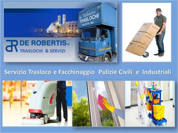 Servizio di Trasloco e Facchinaggio a Molfetta Bari