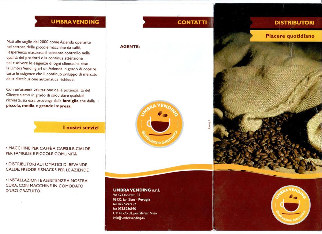Distributore Caffe a Perugia