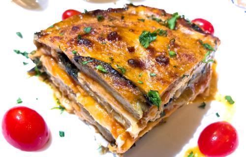 Lasagne alla Parmigiana Osteria - Pizzeria Sleto a Catania