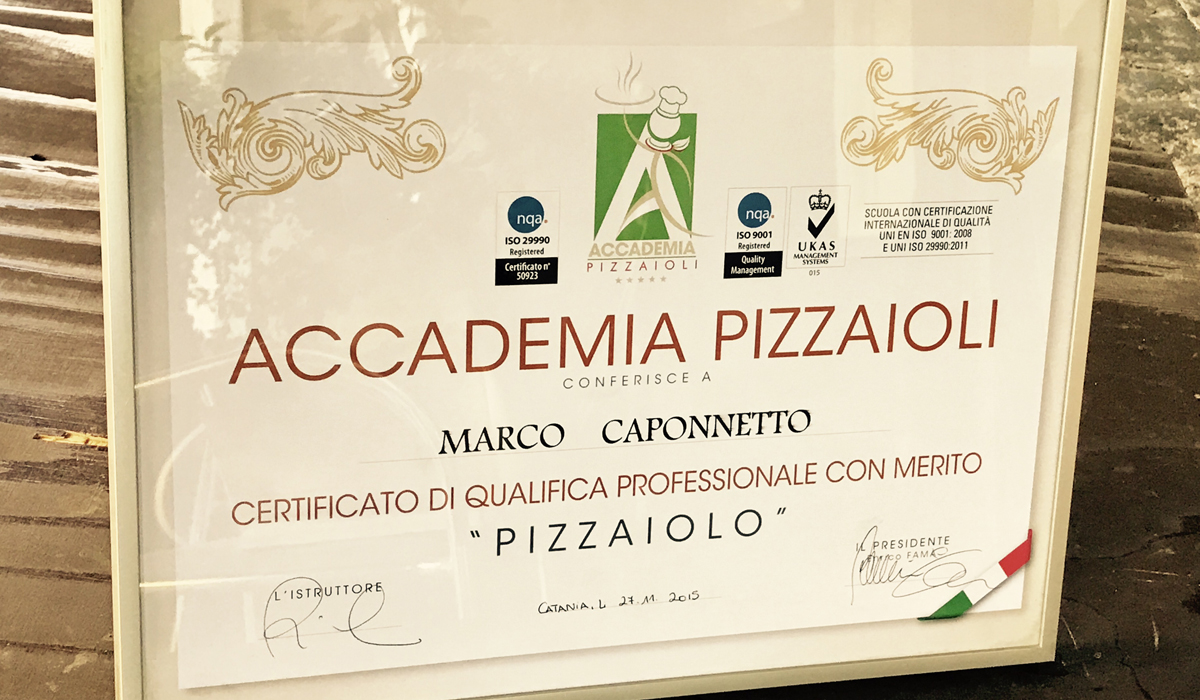 Pizzaioli Qualificati a Catania