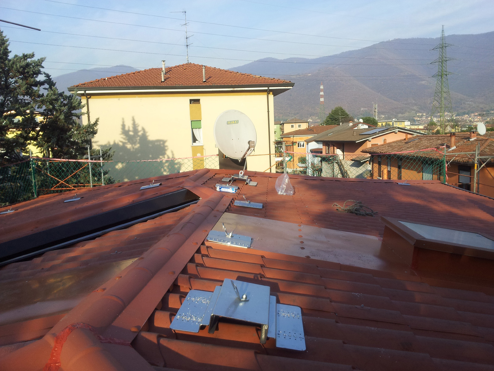 Installazione Linee Vita Nord Italia