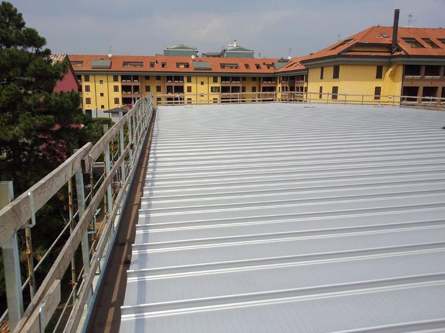 copertura tetti con fissaggio nascosto Lombardia