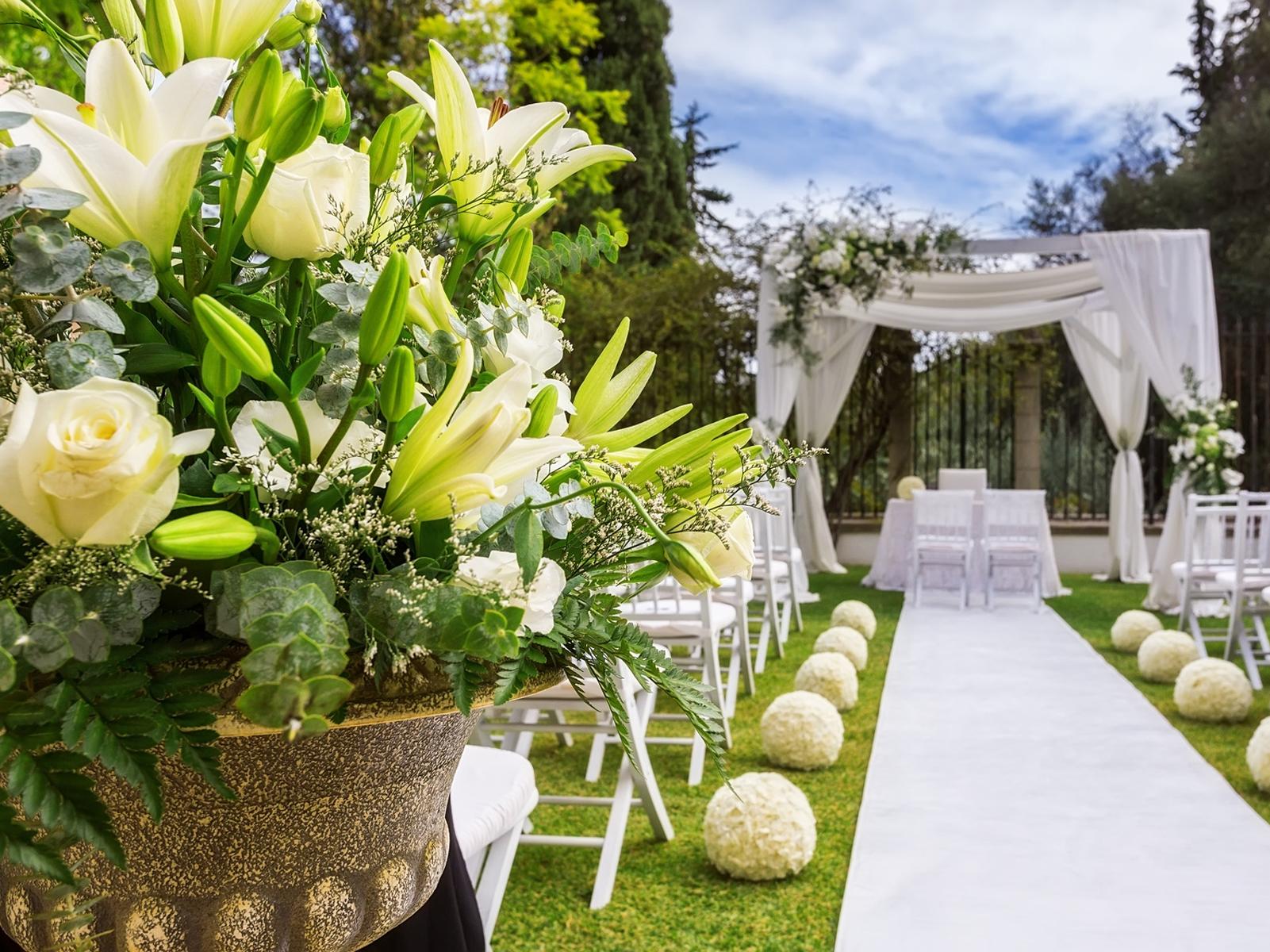 Allestimenti floreali per matrimoni ceto brescia