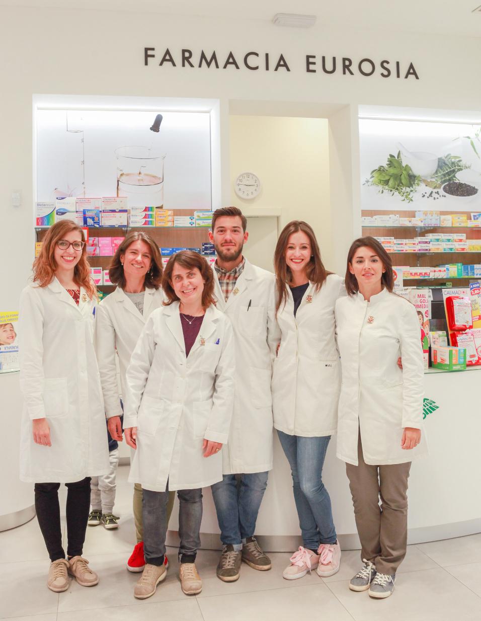 Lo Staff Farmacia Eurosia a Parma