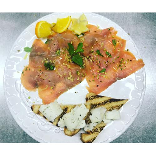 ristorante con menù di pesce Brescia