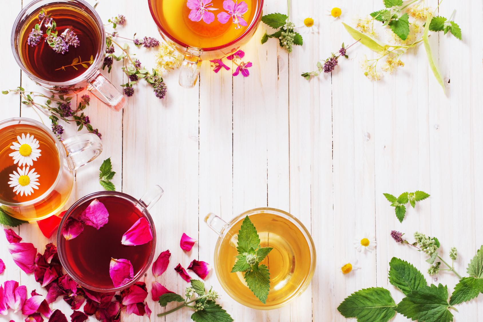 Tè, tisane, infusi