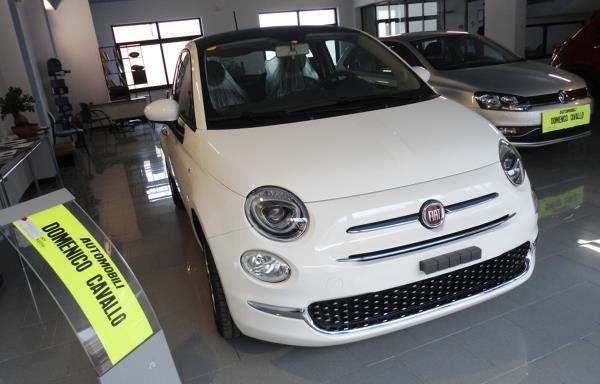 Fiat 500 Bianco Domenico Cavallo a Lizzano Taranto