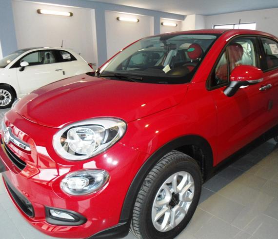 Fiat 500X Rossa Domenico Cavallo a Lizzano Taranto