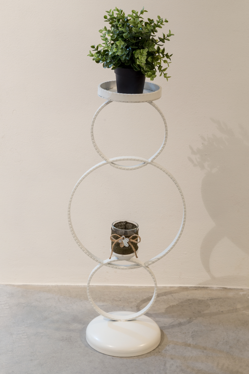 Vaso co Sottovaso Arte Ferro a Monteodorisio Chieti