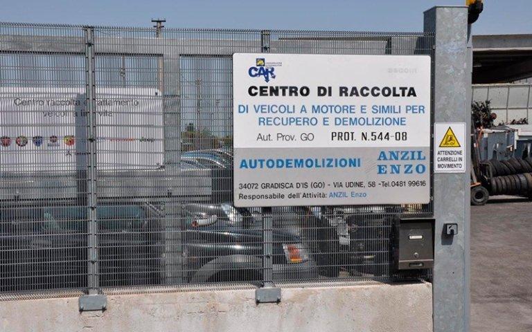 demolizione veicoli Gorizia
