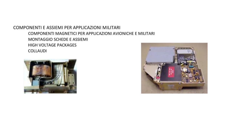 Componenti Assiemi per Applicazioni Militari Alta Industries srl a Scandicci Firenze
