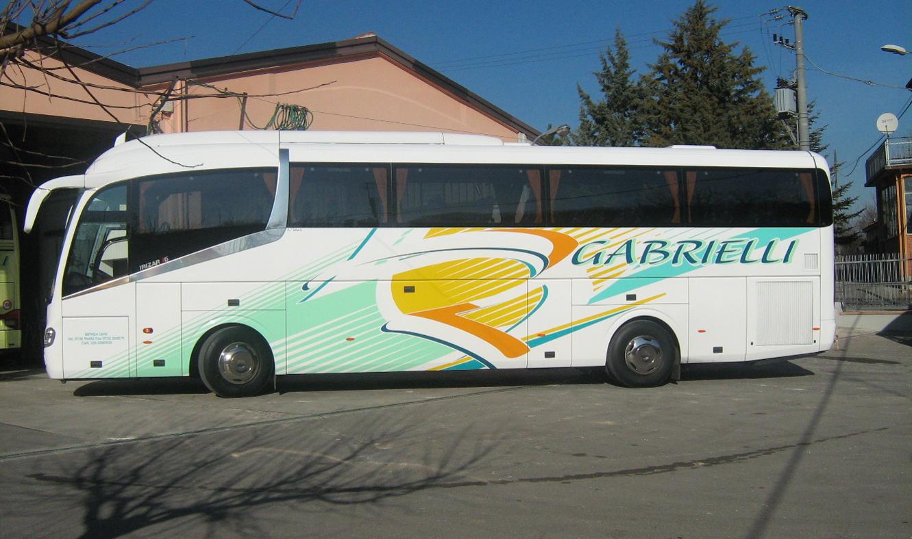 Bus Setra Gabrielli Autonoleggio a Genga Ancona