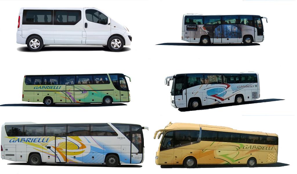Bus Mercedes 404 36 Posti Gabrielli Autonoleggio a Genga Ancona