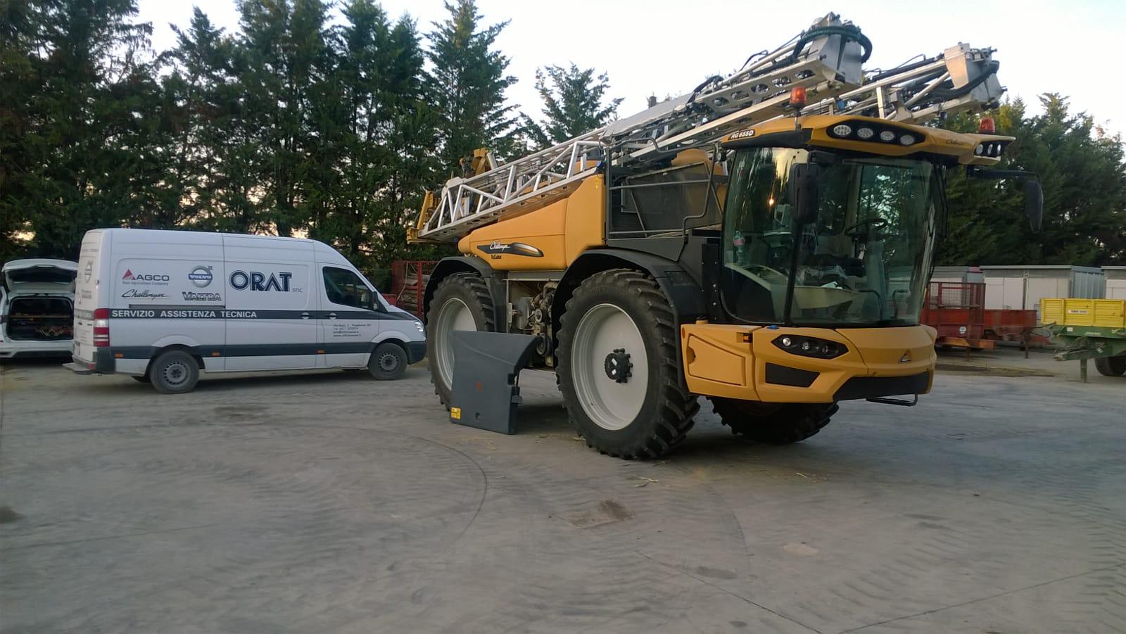 ricambi macchine agricole Siena