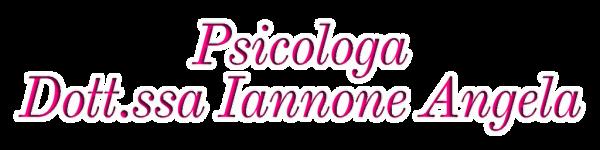 Psicologa Dott.ssa Iannone Angela a Sala Consilina Salerno