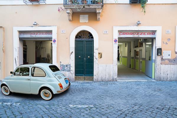restauro auto d'epoca carrozzeria tomassini roma trastevere