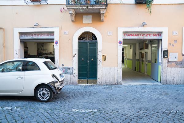 recupero auto incidentate carrozzeria tomassini roma trastevere