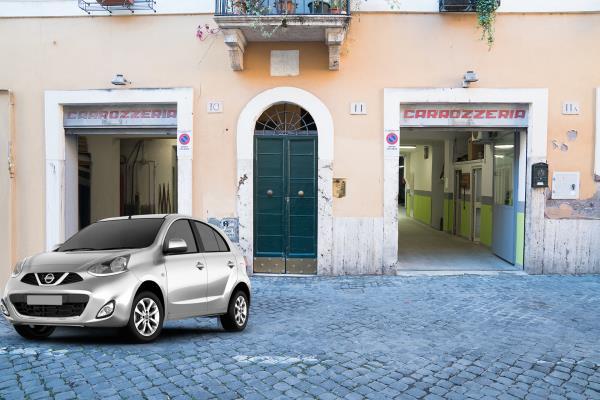 Auto sostitutiva gratuita carrozzeria tomassini roma trastevere