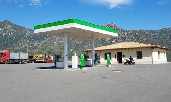 Stazione di servizio benzina e diesel cagliari