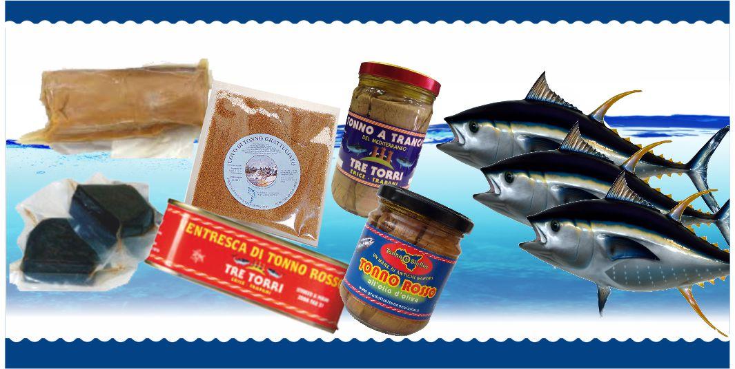 prodotti tonnara pescheria mare azzurro alcamo