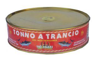 tonno trancio pescheria mare azzurro
