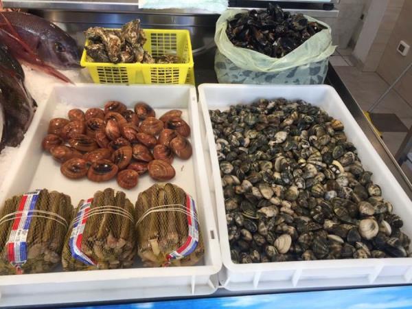 vendita frutti di mare