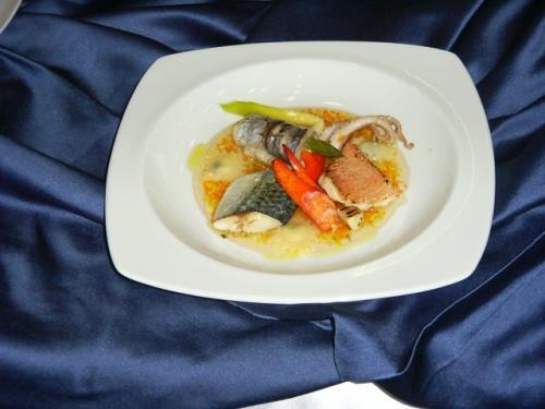 Zuppetta di Pesce a Villa Della Monica Lecce