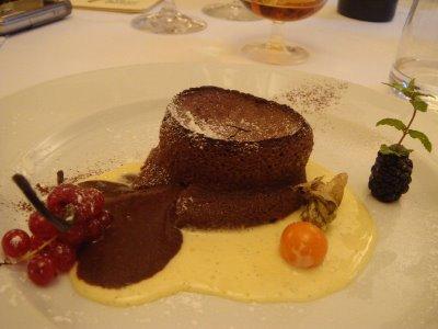 Dessert a Villa Della Monica Lecce