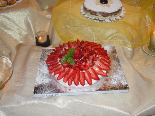 Torta alle Fragole a Villa Della Monica Lecce