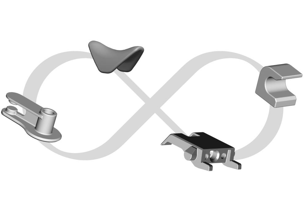 particolari in acciaio antiusura personalizzati