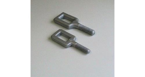 staffe in acciaio
