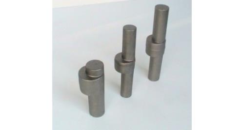 production of rare steel shafts