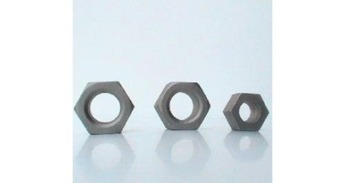 production of hexagon nuts of various sizes