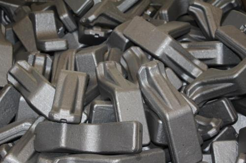 Construction of steel levers