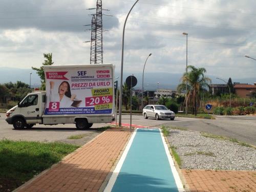 pubblicità mobile catanzaro
