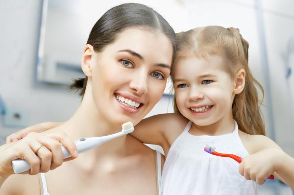 Igiene orale salute di denti