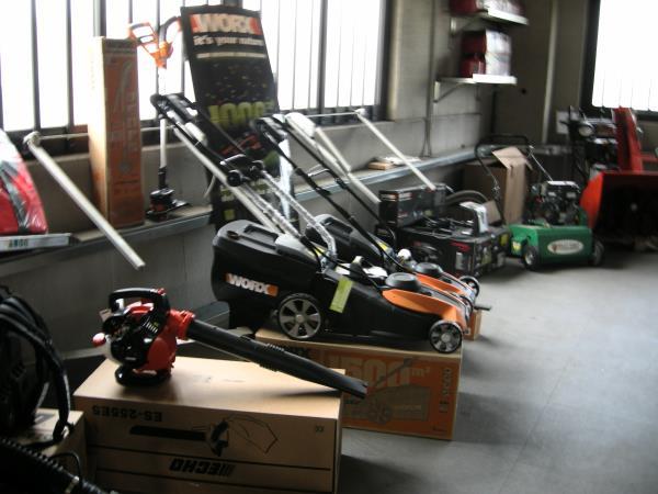 Macchine e attrezzature da giardinaggio