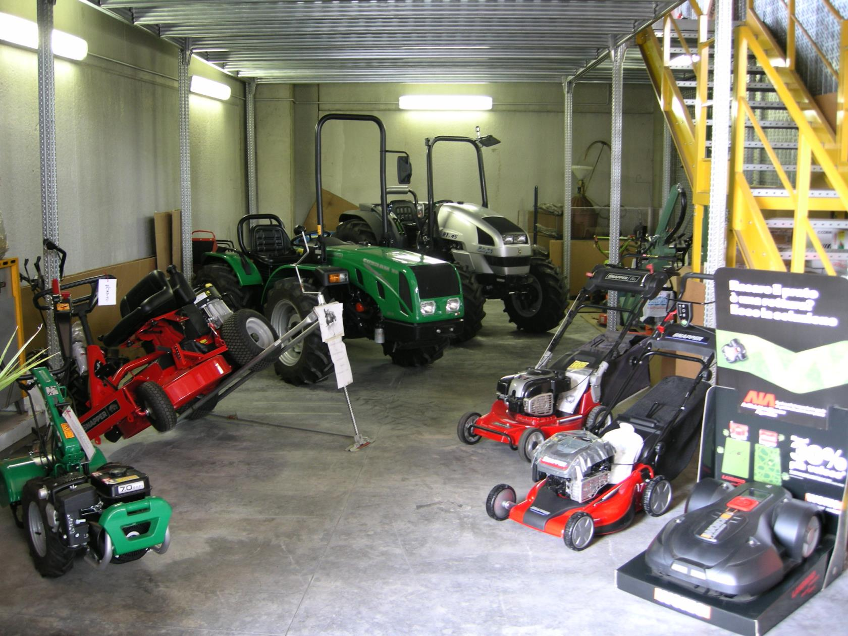 Macchine attrezzature giardinaggio Rivoli Torino
