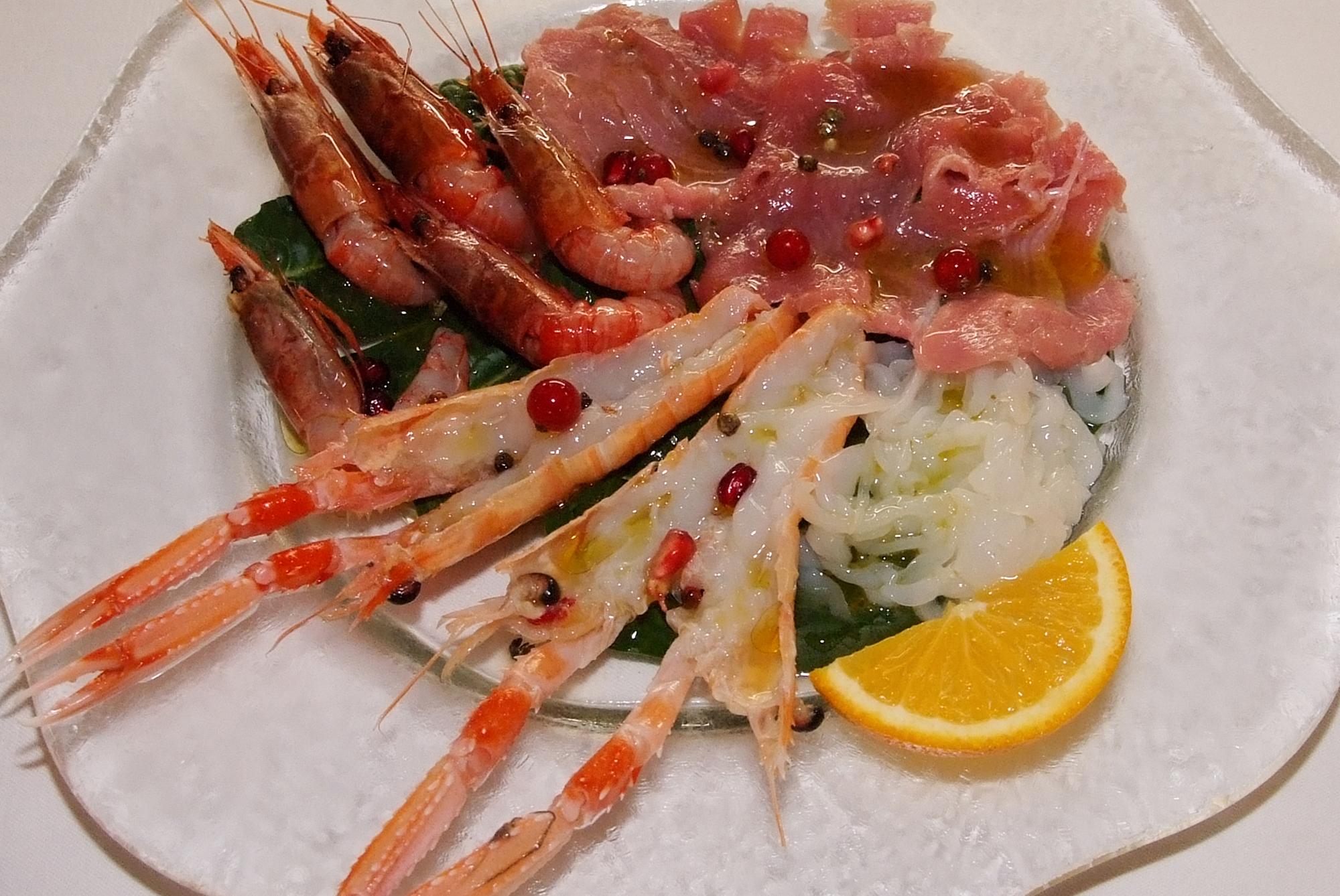 ristorante pesce crudo roma prati