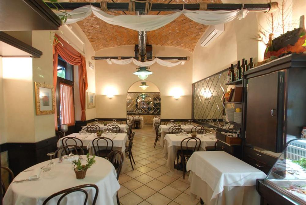 ristorante l'antico porto roma