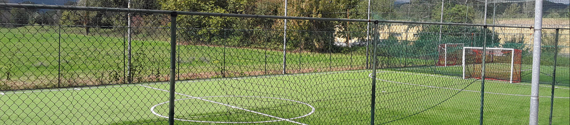 Campo da Calcio Circolo Tennis Al Poggio a Lucca
